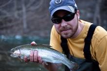 stocked hatchery trout