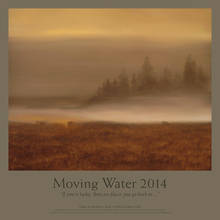 Moving Water Poster