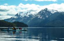 whitewater bay alaska kayaking