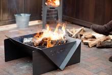 stahl fire pit and stadler oven