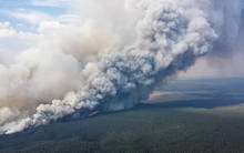 yellowstone park wildfire