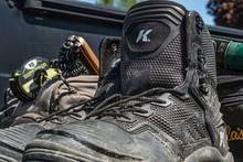 The Korkers River Ops wading boots