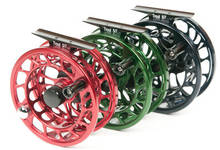Allen Trout Reels in Red, Green and Deep Navy