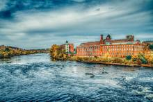 Manchester, New Hampshire - Merrimack River Mills