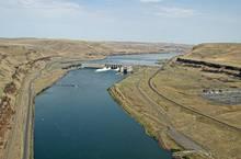 Lower Monumental Dam on the Snake River