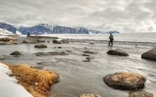 Winter Madison River Fishing