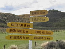 New Zealand Road Sign