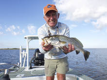 charlie bush with speckled trout