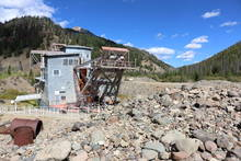 gold dredge - yankee fork - salmon river