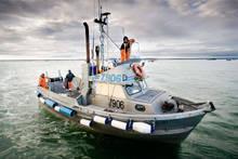 A fishing vessel in Bristol Bay Alaska.