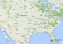 American Rivers' interactive map of dam removals.