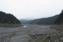 Lake Mills Elwha River Washington