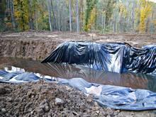 Fracking Waste Pit