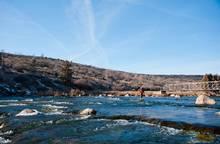 Bear River Idaho Winter