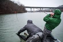 fishing musky