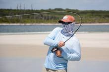 fly fishing redfish beach surf
