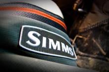 Simms Logo Patch