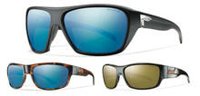 Smith ChromaPOP Polarized Blue Mirror and Polarized Bronze Mirror