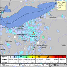 Ohio Earthquake - Utica Shale Formation - Linked to Fracking