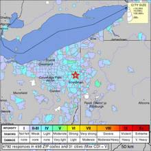 Ohio Earthquake - Utica Shale Formation - Linked to Fracking