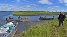 yupik fishing village
