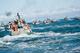 Commercial fishing vessels in Bristol Bay, Alaska.