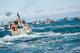 Commercial fishing vessels in Bristol Bay, Alaska.