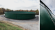 fracking fluid storage tank
