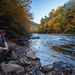 Pennsylvania's Lehigh River in Autumn