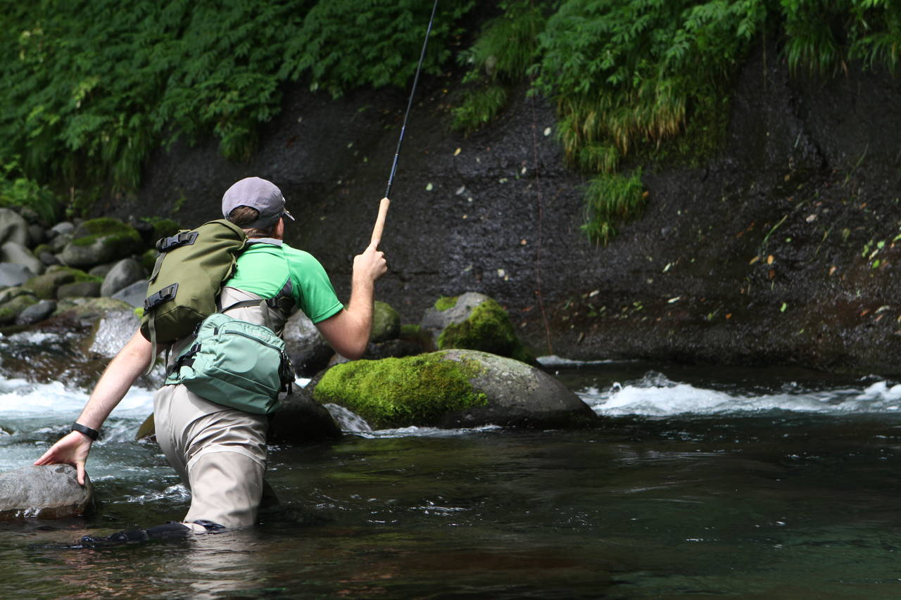 Tenkara Fishing