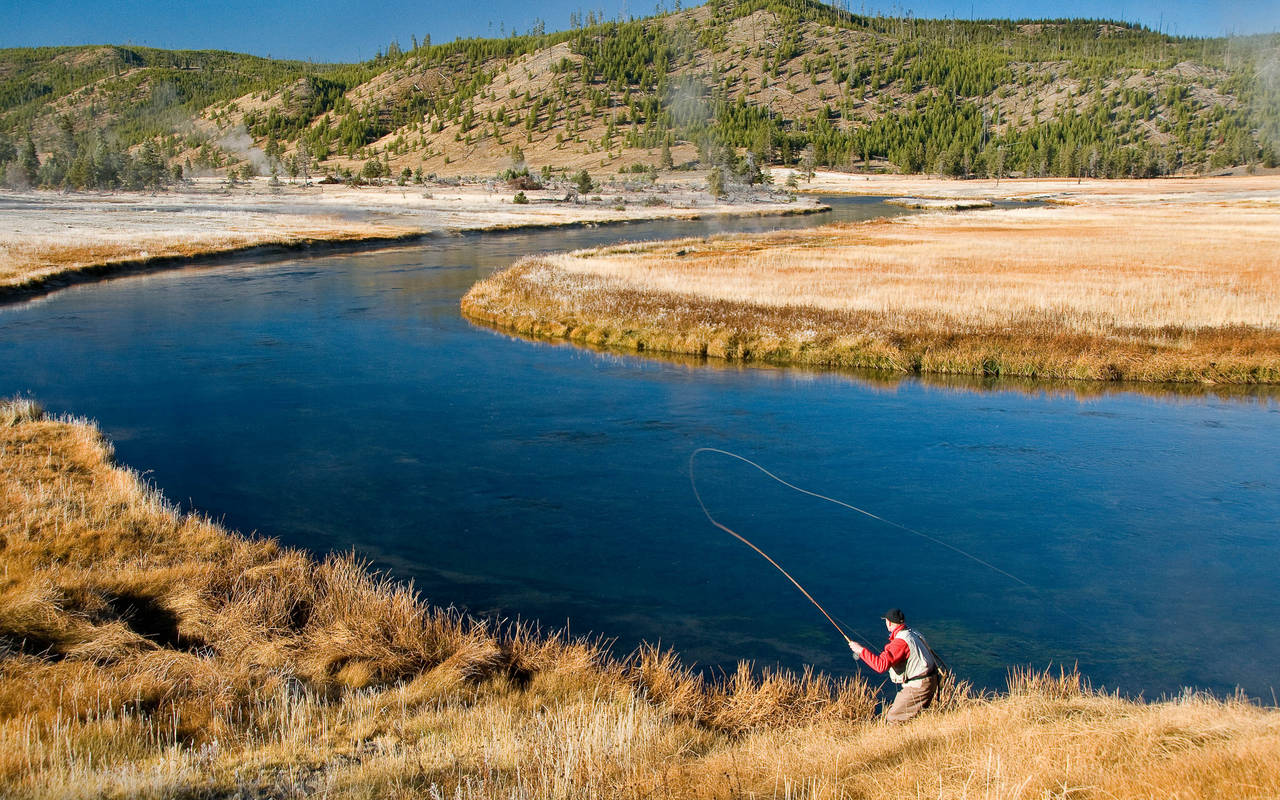 Tips technique hatch magazine fly fishing etc for Fly fishing yellowstone river