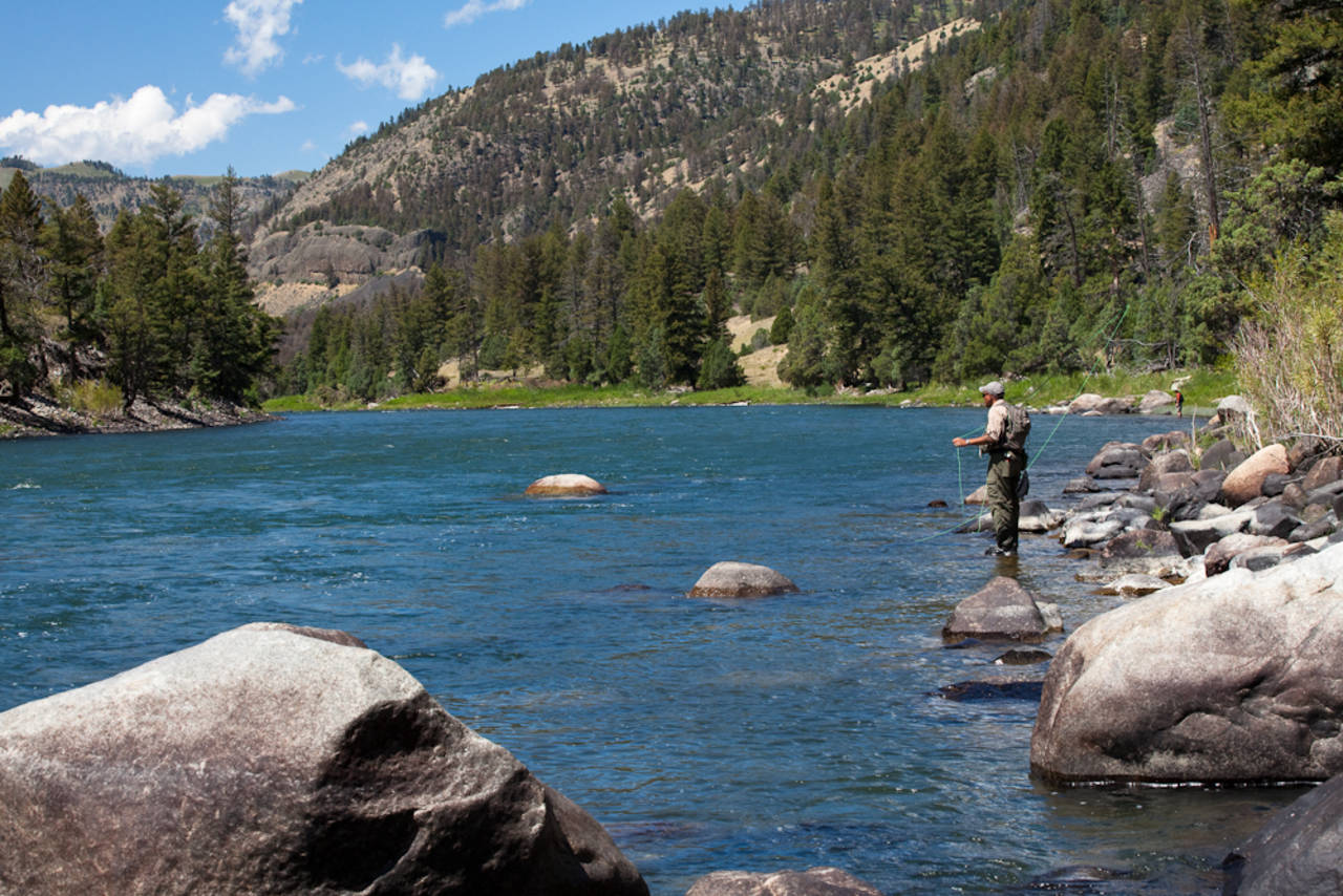 Yellowstone River Backcountry Fishing