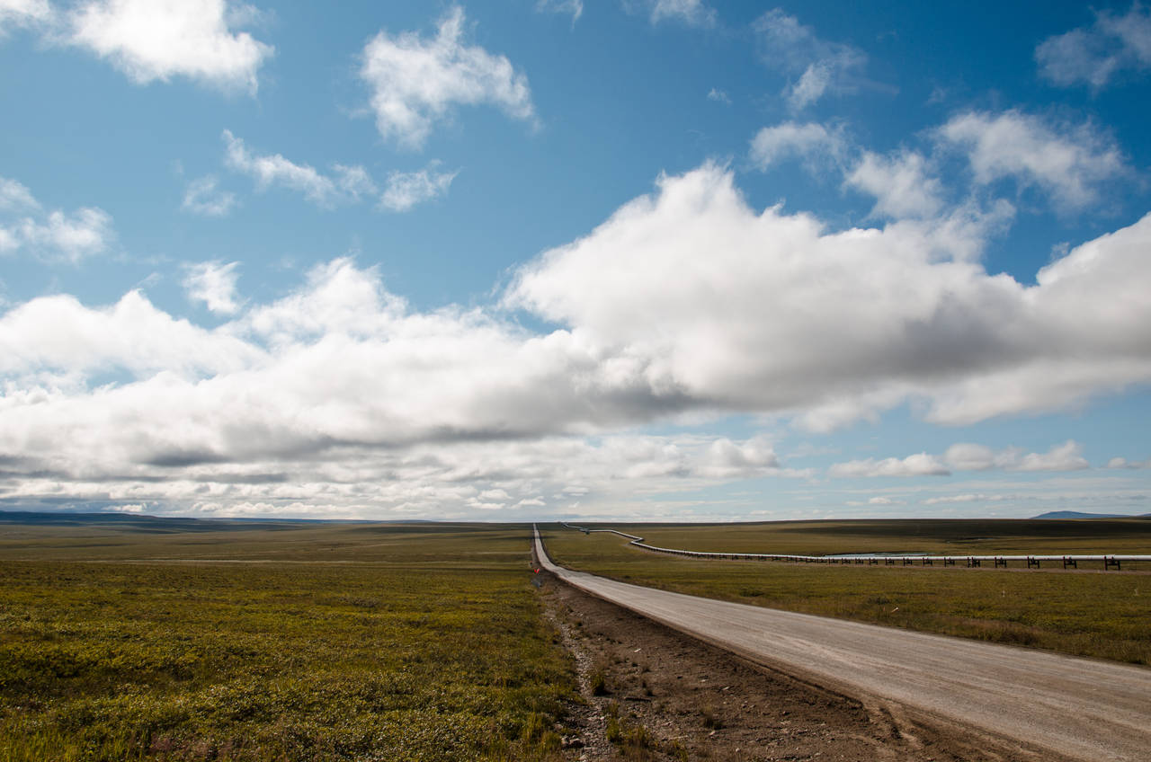 fly fishing alaska's dalton highway