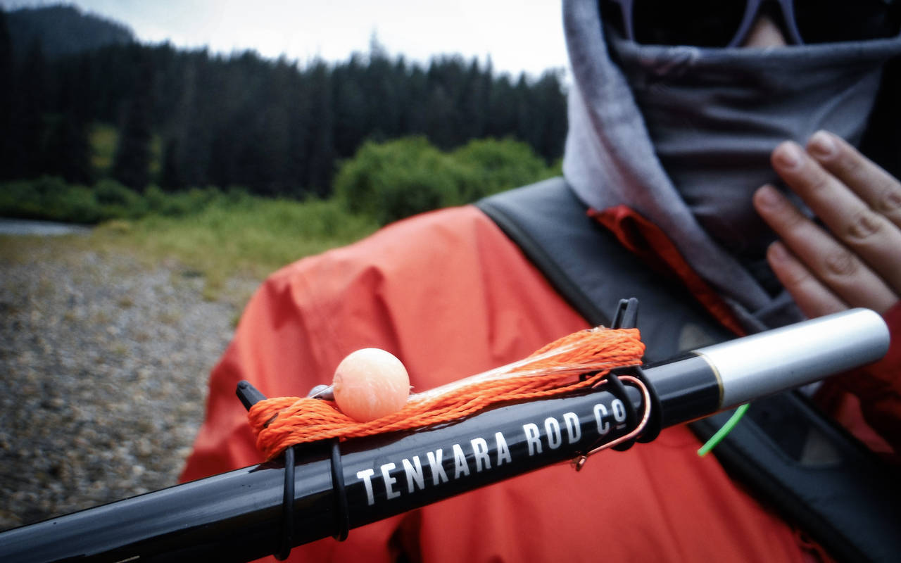 Tenkara Rod Co. Teton rod.