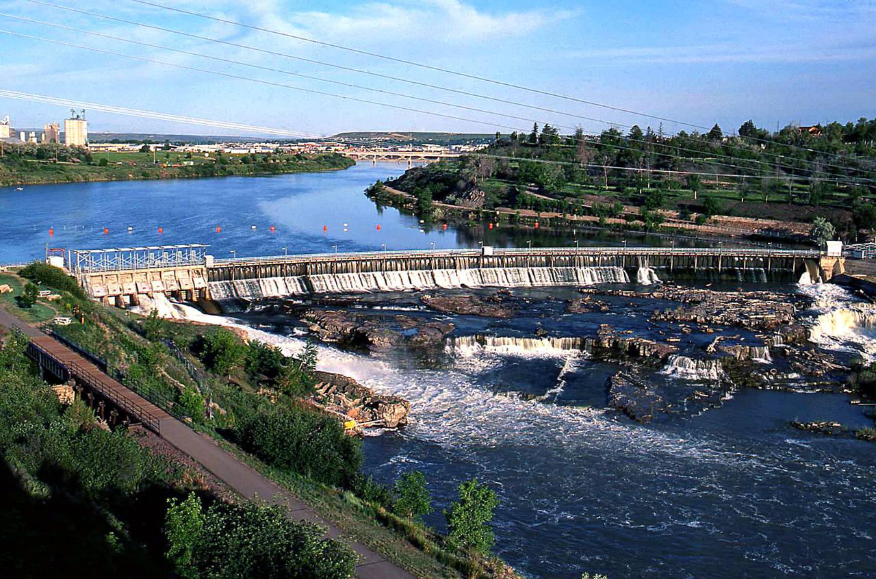 Black Eagle Dam in Great Falls