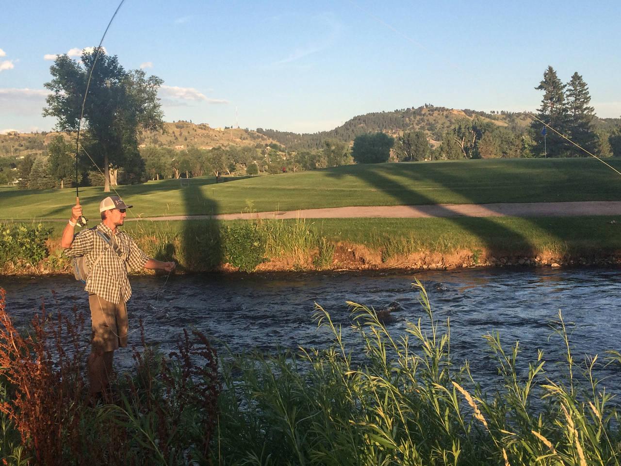 fly fishing south dakota