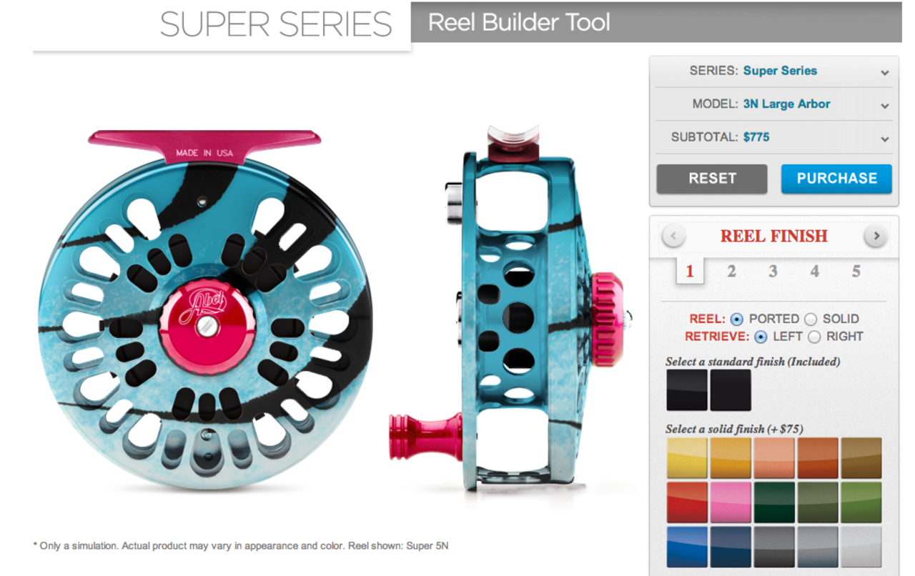 Abel Reels 'Build it Yourself' Tool