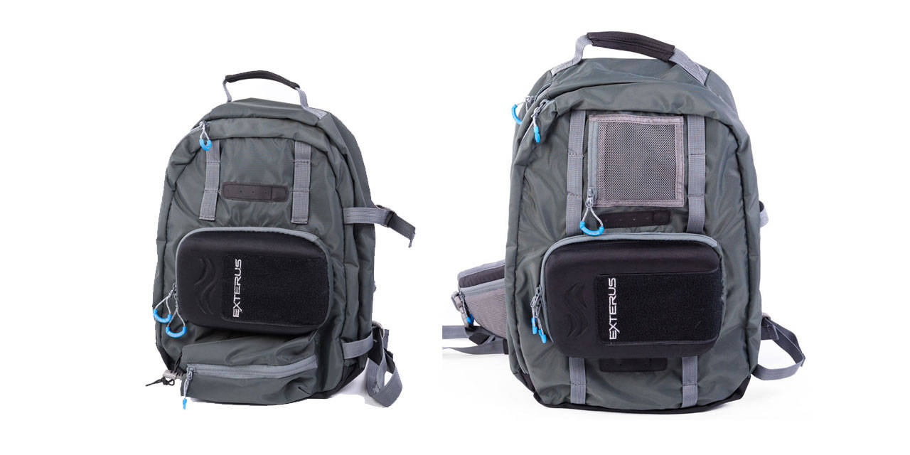 Backpacks hatch magazine fly fishing etc for Fishing sling pack