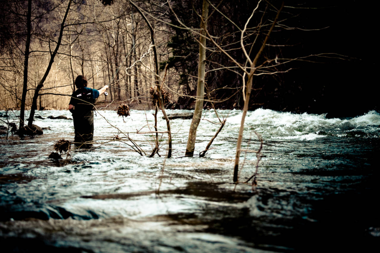 Fly Fishing High Water