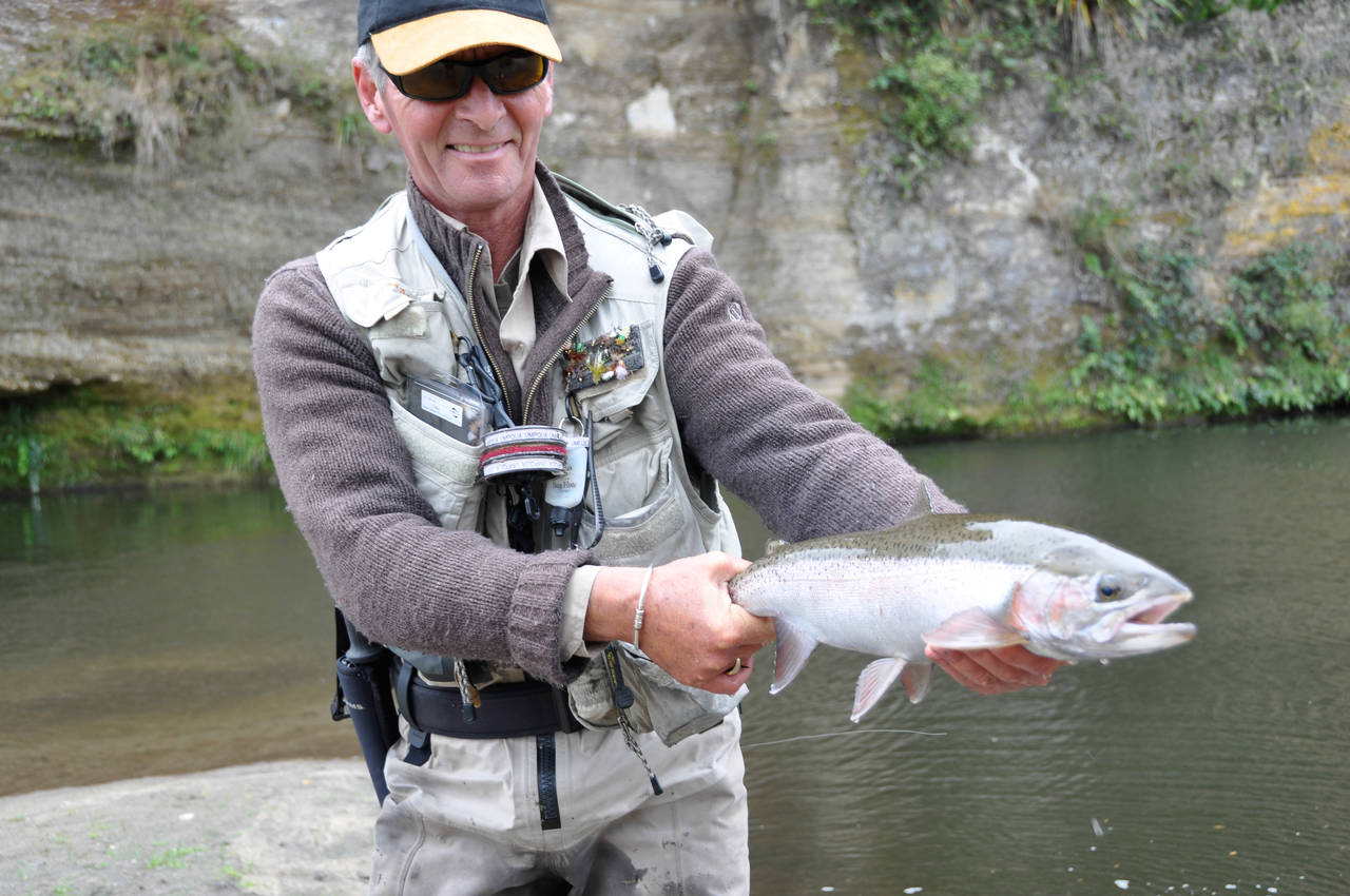 New Zealand rainbow trout.