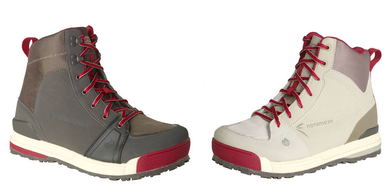 Redington aims to take the ugly out of fly fishing boots for Wading shoes for fishing