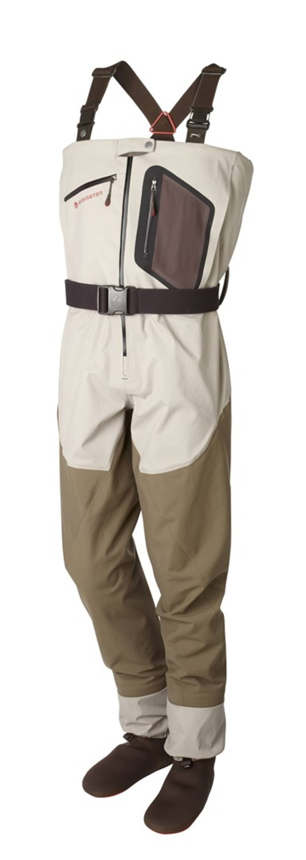 Redington intros new 2014 super dry wader series hatch for Fly fishing waders