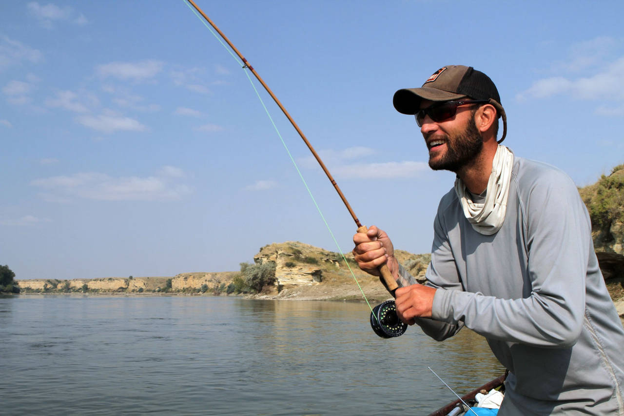 Yellowstone river hatch magazine fly fishing etc for River fishing pole