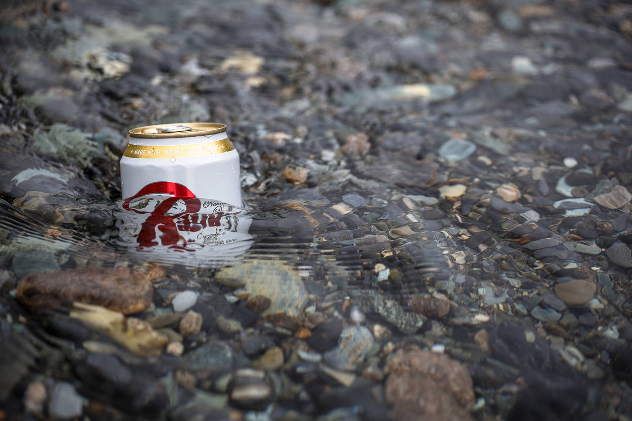 Rainier Can in River